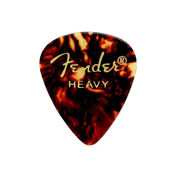 Palheta Fender Heavy Shell