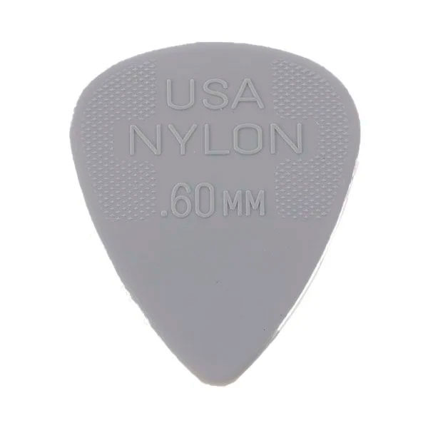 Palheta Nylon Standard 0,60mm Cinza Dunlop