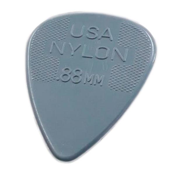 Palheta Nylon Standard 0,88mm Cinza Dunlop