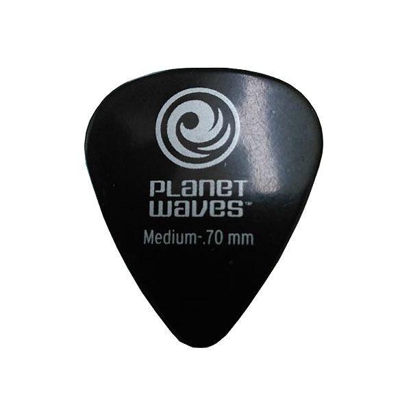 Palheta Planet Waves Classic 0,70mm Medium Preta