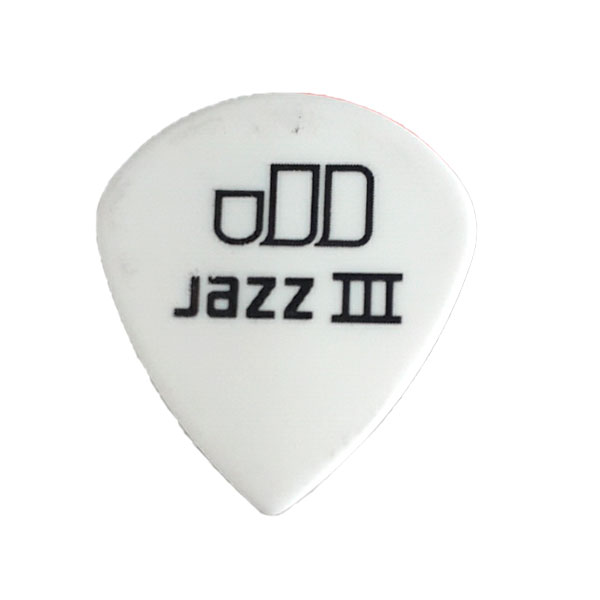 Palheta Tortex Jazz III 1,5 mm Branca Dunlop