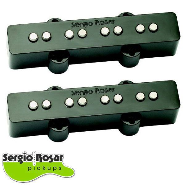 Par de Captadores Jazz Bass Sergio Rosar Hot