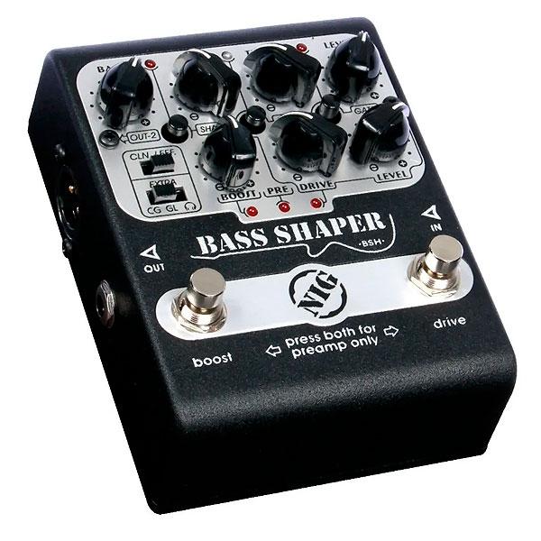 Pedal Para Baixo Bass Shaper BSH NIG