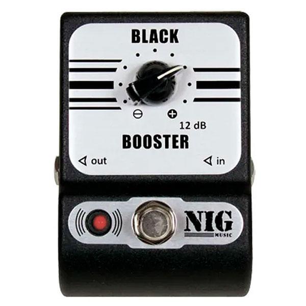 Pedal Para Guitarra Black Booster PBB NIG