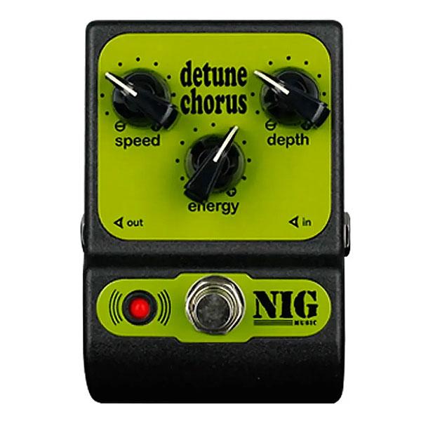 Pedal Para Guitarra Detune Chorus PCH NIG