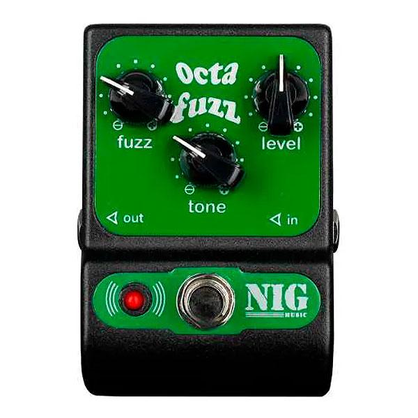 Pedal Para Guitarra Octa Fuzz POC NIG