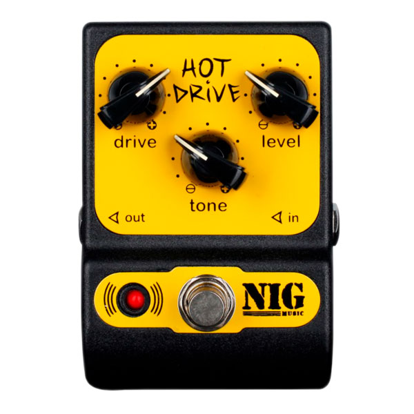 Pedal Overdrive Hot Drive PHD NIG
