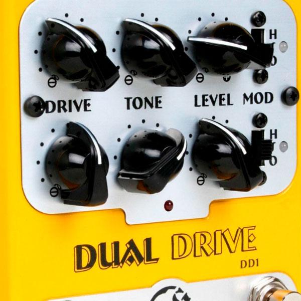 Pedal Para Guitarra Dual Drive DD1 NIG
