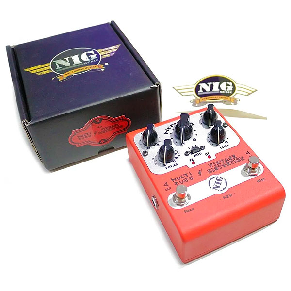 Pedal Para Guitarra Multi Fuzz And Vintage Distortion FZD NIG