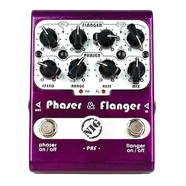 Pedal Para Guitarra Phaser & Flanger PHF NIG