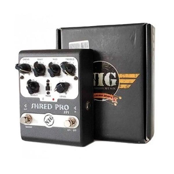 Pedal Para Guitarra Shred Pro SP1 NIG
