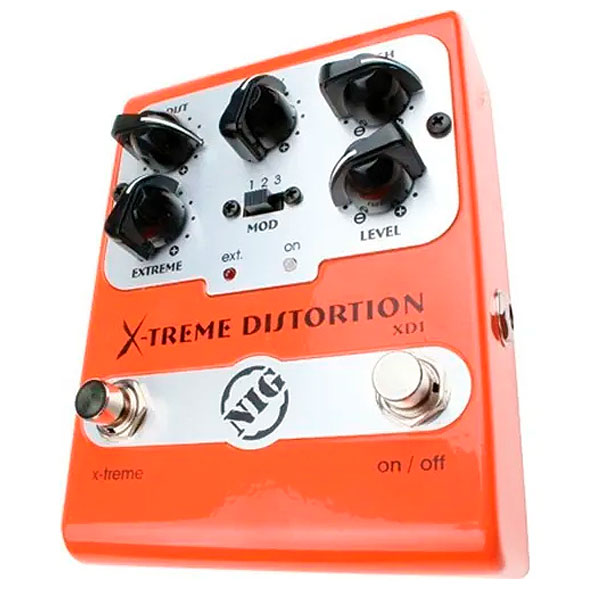 Pedal Para Guitarra Xtreme Distortion XD1 NIG