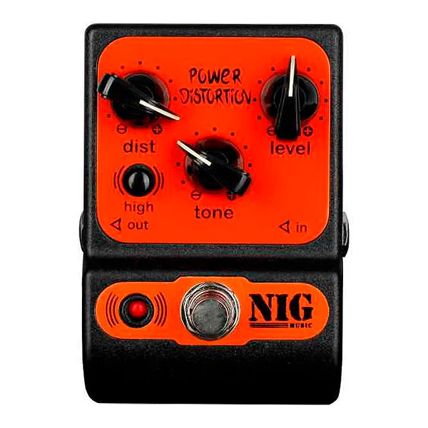 Pedal Para Guitarra Power Distortion PPD NIG