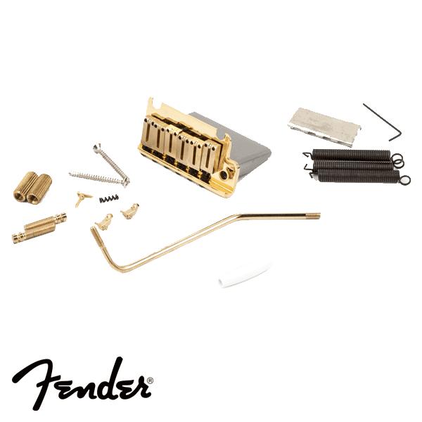 Ponte Fender Tremolo para Guitarra American Standard Dourada