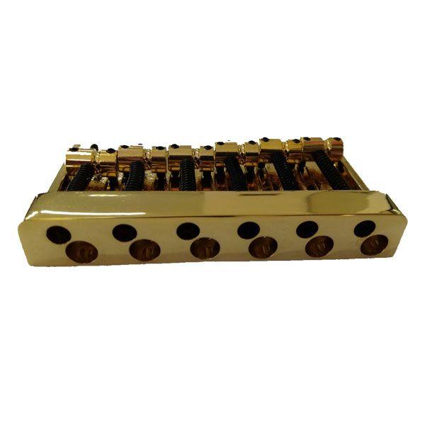 Ponte Para Baixo 6 Cordas Jazz Bass 16mm Dourada