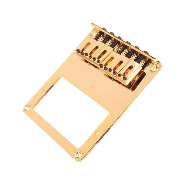 Ponte Para Guitarra Tele Eg16 Dourada