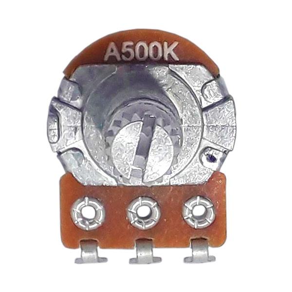 Potenciômetro Para Guitarra e Baixo A 500k 16/18mm Alpha
