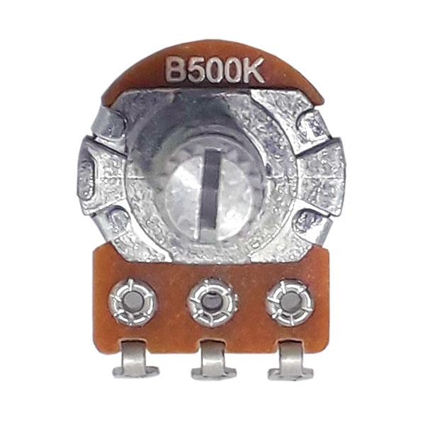 Potenciômetro Para Guitarra e Baixo B 500k 16/18mm Alpha