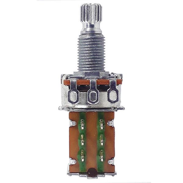 Potenciômetro Push-Pull  Para Guitarra A250k 16/18mm Dolphin