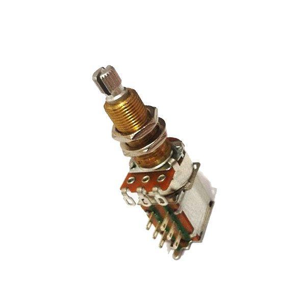 Potenciômetro VPP319  B250k Push Push Eixo Longo
