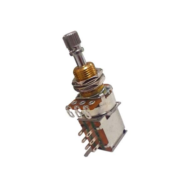 Potenciômetro VPP3 A500K  Push Push  Eixo Curto