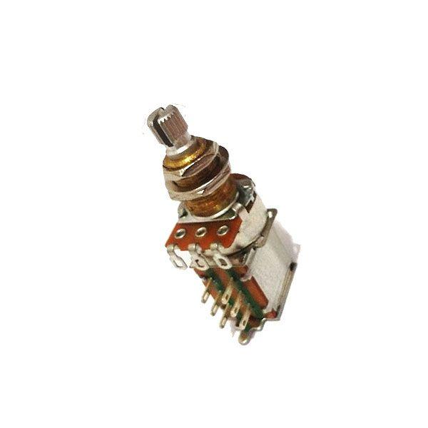 Potenciômetro VPP3 B250K  Push Push  Eixo Curto