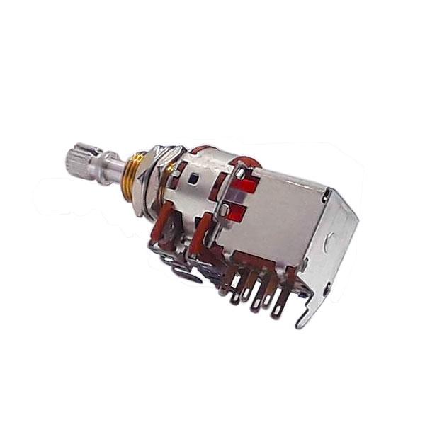 Potenciômetro VPP4 A250K Push Push Misturador Eixo Curto