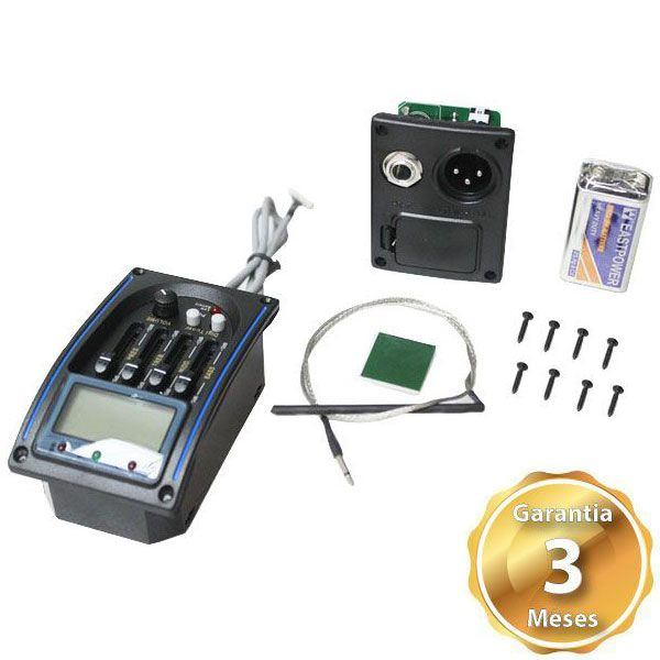 Pre Amp Para Violao LC-4