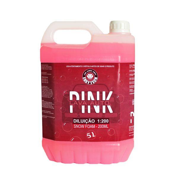 Shampoo Automotivo Concentrado 1:200 Pink 5L Easytech