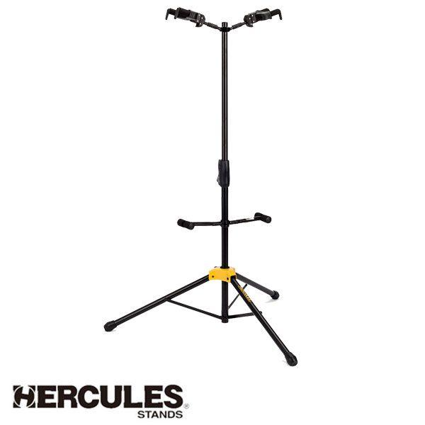 Suporte Hércules Auto Trava Para 2 Instrumentos Gs422b
