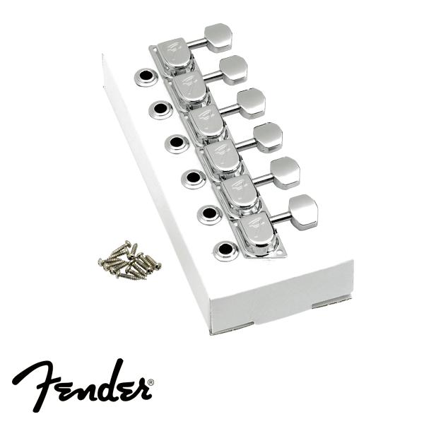 Tarraxa Fender para Guitarra 6 em Linha 70s Cromada