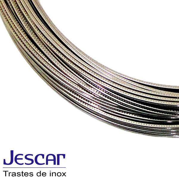 Traste Inox Jescar Super Jumbo FW57110 Pacote Com 24UN