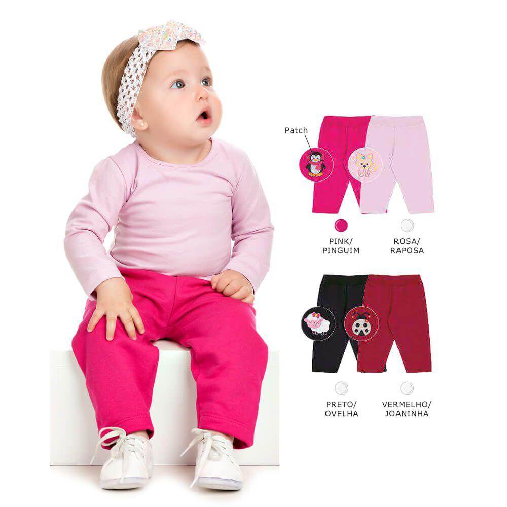 86a19cae2 Calça Bordada Bebê Menina - Infância Urbana