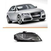 Farol Audi A4 2009 2010 2011 2012 Com Led Para Xenon Ld