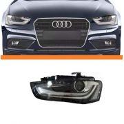 Farol Audi A4 2013 2014 2015 Com Led E Xenon Le