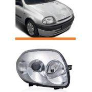Farol Clio 2000 2001 2002 Foco Duplo Direito