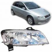 Farol Fiat Stilo 2003 2004 2005 2006 07 08 Plug Quadrado Ld