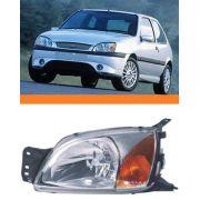 Farol Fiesta Courrier 2000 2001 2002 Pisca Ambar Esquerdo