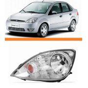 Farol Fiesta Hatch Sedan 2003 2004 2005 2006 2007 Esquerdo