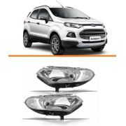 Farol Ford Ecosport 2013 2014 2015 2016 Lado C/led Par
