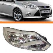 Farol Ford Focus 2013 2014 2015 Cromado Novo Lado Direito