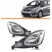 Farol Honda New Fit 2009 2010 2011 2012 Par