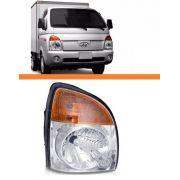 Farol Hr Hyundai Ano 2007 2008 2009 2010 2011 Direito