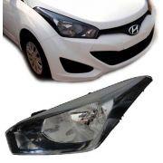 Farol Hyundai Hb20 Mascara Negra 2012 2013 Novo Importado Le