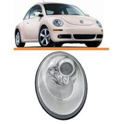 Farol New Beetle 2007 2008 2009 2010 2011 Cromado Direito