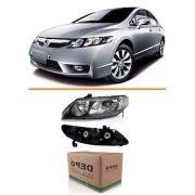 Farol New Civic 2007 2008 2009 2010 2011 Le Depo