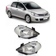 Farol Nissan Tiida 2008 2009 2010 2011 2012, Par