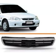 Grade Civic 1999 A 2000 C/ Moldura Cromada 99 00