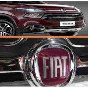 Grade Cromada Capo Superior Fiat Toro(original)