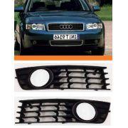 Grade Farol De Milha  Audi A4 A-4  2002 2003 2004 Par